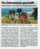 Pressebericht Bezirksblatt Gmünd Nr. 34 vom 20.8.2008