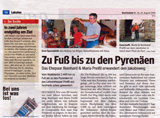 Pressebericht Bezirksblatt Gmünd Nr. 34 vom 25.8.2010