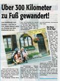 Pressebericht Unser Waldviertel vom 25.8.2008