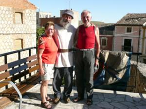Abschied vom Hospitalero in Castrojeriz