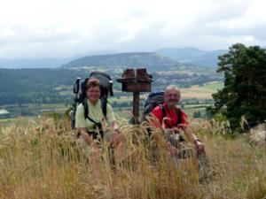 Auf dem Montjoie vor Le Puy-en-Velay