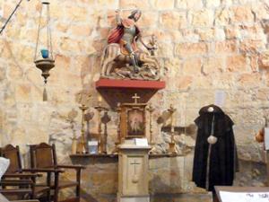 Inneres der ehemaligen Santiagokirche in Carrión de los Condes