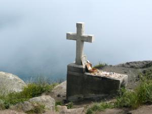 Kreuz in Finisterre