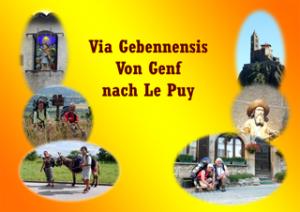 Jakobsweg von Genf nach Le Puy-en-Velay