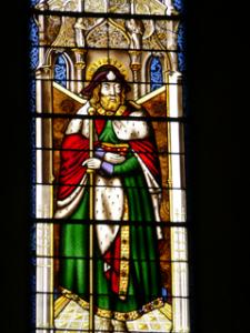 Genf Saint-Pierre Glasfenster Jakobus der Ältere