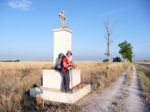 Kreuz auf dem Weg nach Mansilla de las Mullas