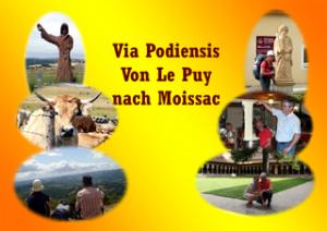 Jakobsweg von Le Puy-en-Velay nach Moissac