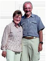 Maria und Reinhard Preißl am Jakobsweg