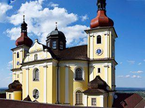 Kirche Maria Trost Dobrá Voda (Brünnl)