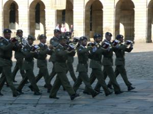 Militärmusik zum Jakobustag