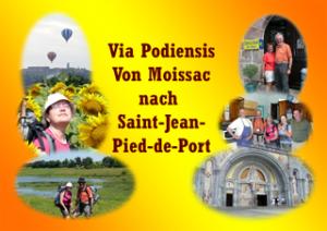 Jakobsweg von Moissac nach Saint-Jean-Pied-de-Port