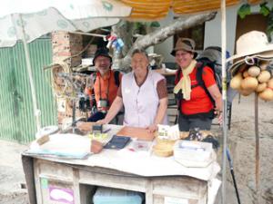 Pilgerregistrierung vor Logroño
