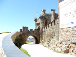 Templerburg in Ponferrada