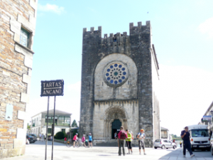 Kirche San Juan von Portomarin