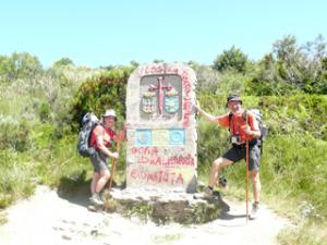 Provinzgrenze zu Galicien