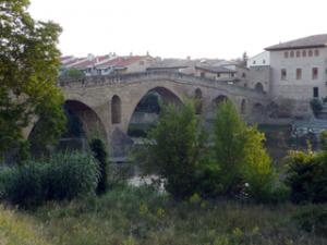 Historische Brücke von Puente la Reina