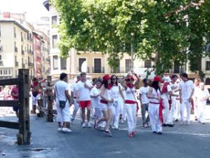 San-Fermin-Fest in Pamplona
