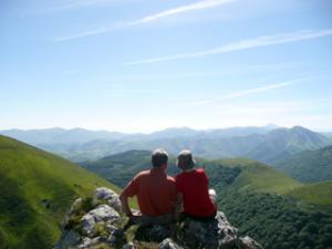 In den Pyrenäen - traumhafter Ausblick