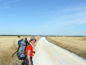 Unterwegs nach Calzadilla de la Cueza