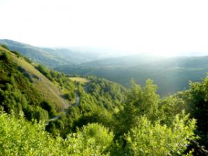 Vor der Passhöhe San Roque