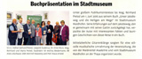 Pressebericht Waidhofner Stadtnachrichten vom Juli 2016