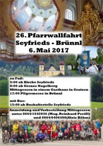 Seyfrtiedser Brünnlwallfahrt 2017